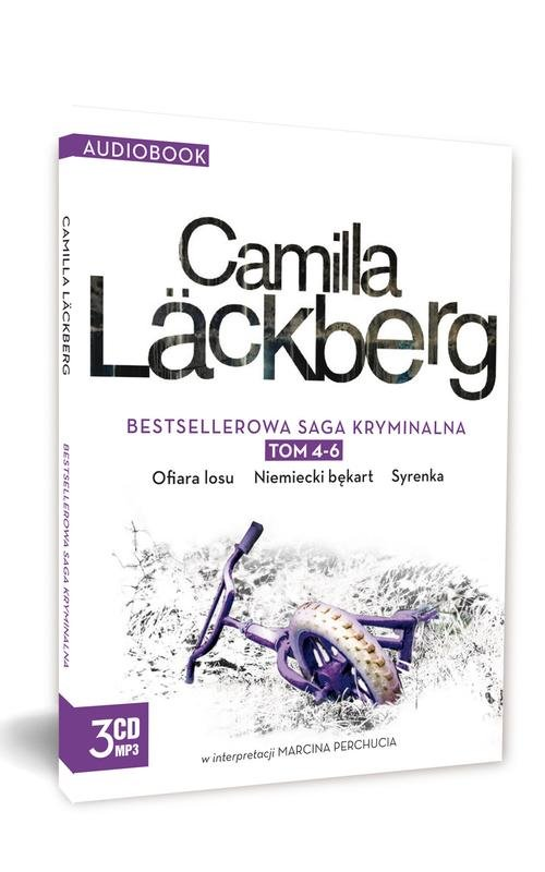 Pakiet Camilla Lackberg CD tom 4-6