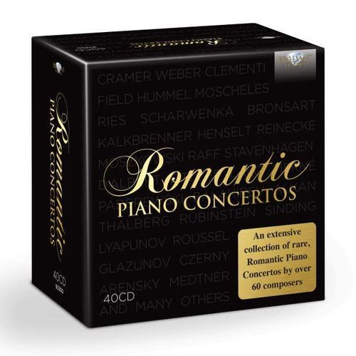 Romantic Piano Concertos 40 CD