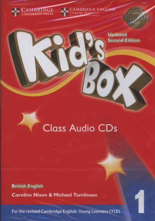 Kids Box 1 Class Audio CDs